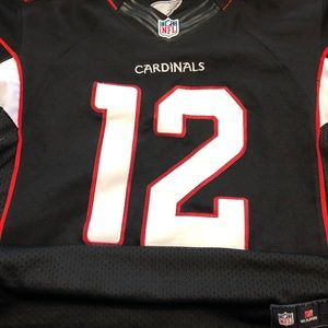 NFL Cardinals #12 Brown stitched Jersey